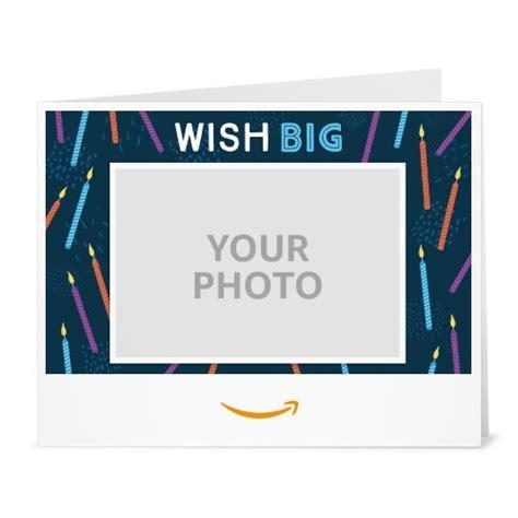 printable gift card uk upload your photo wish big printable amazon co uk gift