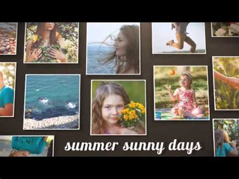 Free After Effects Template 120 Photo Instagram Slideshow V1 1 Youtube After Effects Simple Slideshow Template Free