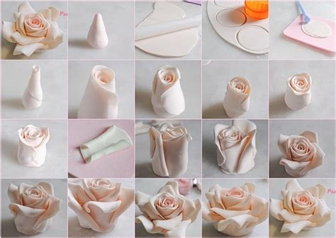 How To Make Fondant Decorations by Diy Cake Fondant Roses Pictures Photos And Images For