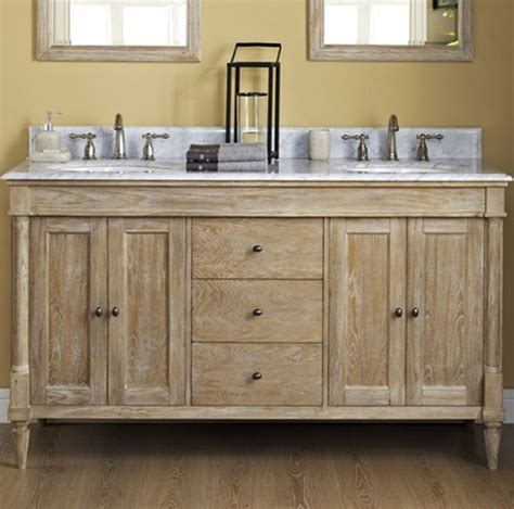 Weathered Oak Vanity by Fairmont Rustic Chic 60 Quot Vanity Only Weathered Oak