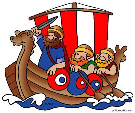 viking boats cartoon cartoon viking ship clipart best