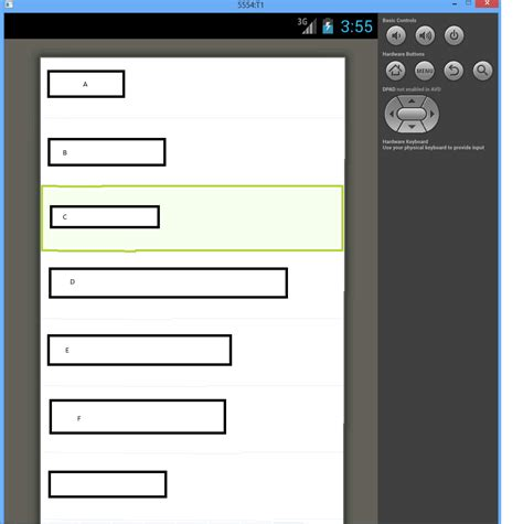 android landscape layout manifest android on portrait screen becomes all white stack
