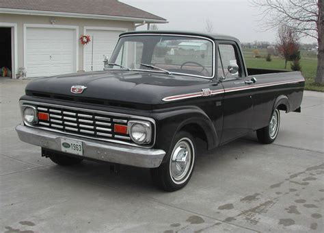 truck car ford all american classic cars 1963 ford f100 custom cab