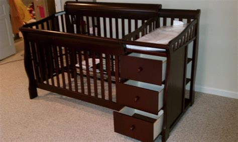 crib with drawers and changing table crib with changing table and drawers for sale dennis