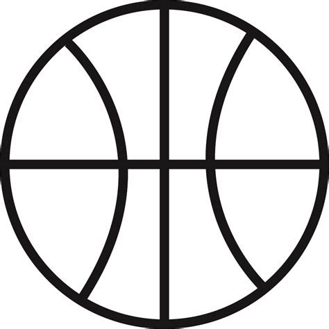 basketball clipart black and white free basketball outline free clip free clip