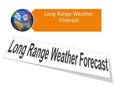 range weather forecast
