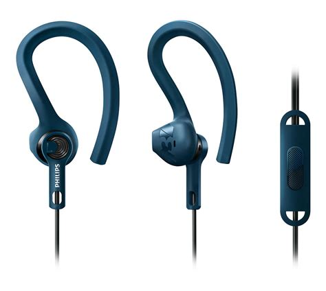 Philips Sports Earphone Shq3300 actionfit sports headphones with mic shq1405bl 00 philips