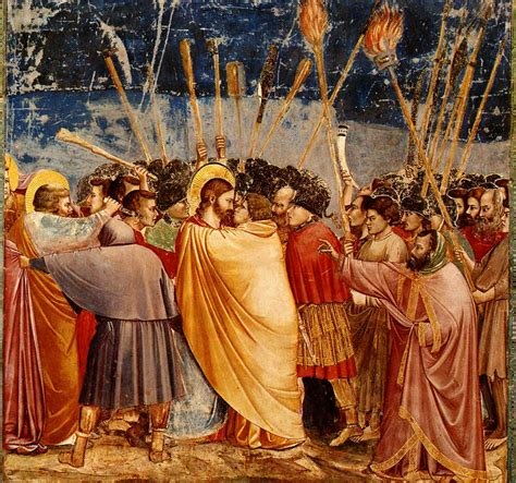 Giotto Judas Kiss Painting   file giotto kissofjudas jpg wikimedia commons
