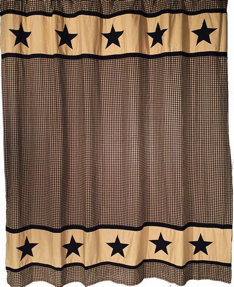 black and tan shower curtain star shower curtains view bingham star shower curtain