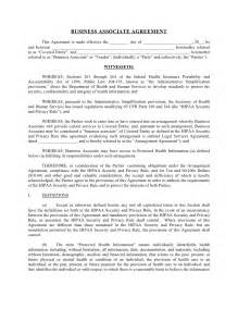 Business associate agreement this agreement is made effective the