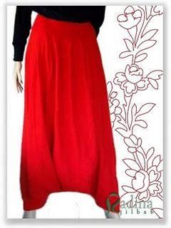 Celana Pink Size 120 celana harem jilbabku lucu