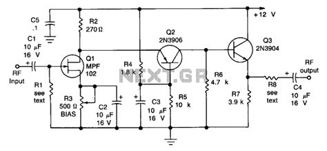 a high gain integrated circuit rf if lifier with wide range agc a high gain integrated circuit rf if lifier with wide range agc 28 images 50mhz to 4ghz low