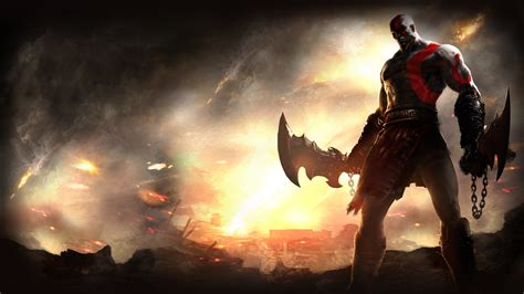 Of God god of war wallpapers high quality free