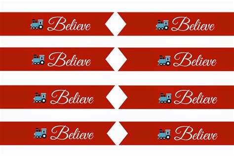 printable believe tags east coast mommy polar express treat bag with free