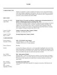 Hr Objective Statement Human Resource Resume Examples