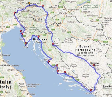 Motorradtouren Durch Ostdeutschland by Motorradtour Sarajevo Dubrovnik K 252 Stenstrasse