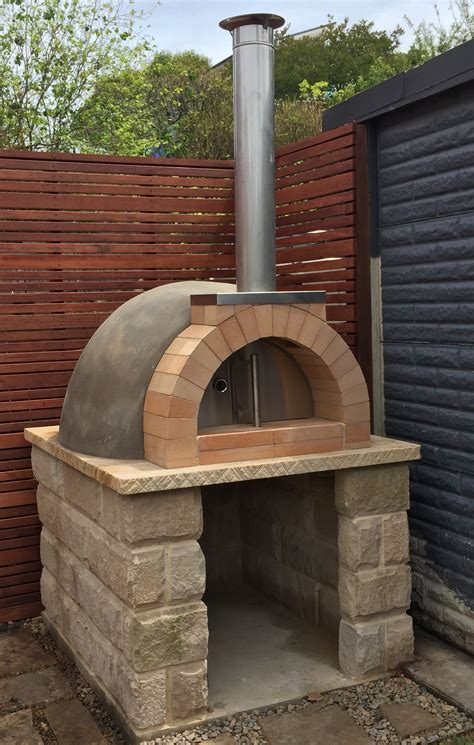 build wood fired pizza oven your backyard calabrese entertainer precast diy refractory woodfired
