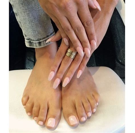 Must Colors For Summers Bare Toes by Fierrrrrrce Source Chanel And Louboutins Via