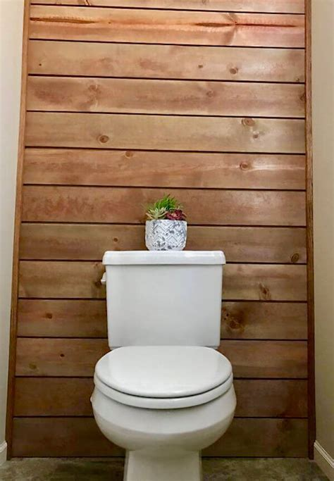 Guest Bathroom Design Ideas How To Install Shiplap For A Timely And Timeless Accent