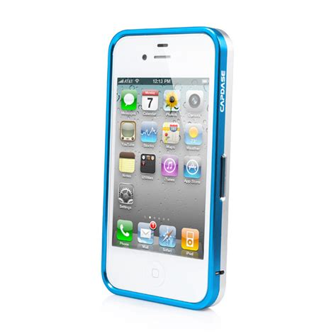Sale Capdase Alumor Bumper Duo Frame For Iphone 55s Original 2 capdase iphone 4s 4 alumor bumper duo frame blue
