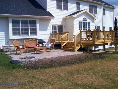 backyard wood patio backyard deck design ideas design ideas