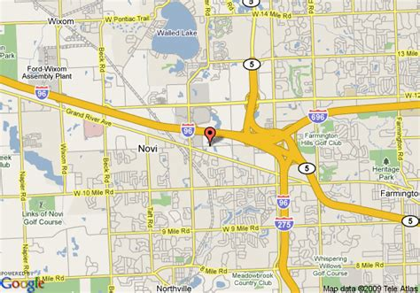 map of towneplace suites detroit novi novi