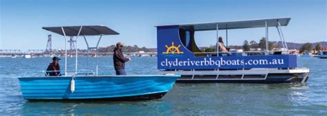 fishing boat hire clyde river bbq and fishing boat hire clyde river