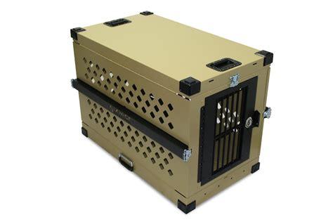 xl kennel aluminum folding collapsible crate xl gun outfitter