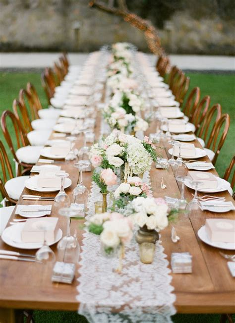 rustic wedding table ideas table wedding decorations archives weddings romantique