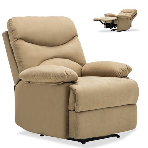 heated reclining sofa ergonomic recliner sofa chair microfiber lounge heated w ebay