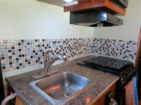 How To Install A Glass Tile Backsplash In The Kitchen blog what backsplash tiles can be installed in a rv