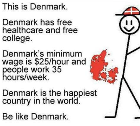 Denmark Meme - boom another liberal meme promoting socialism ripped to