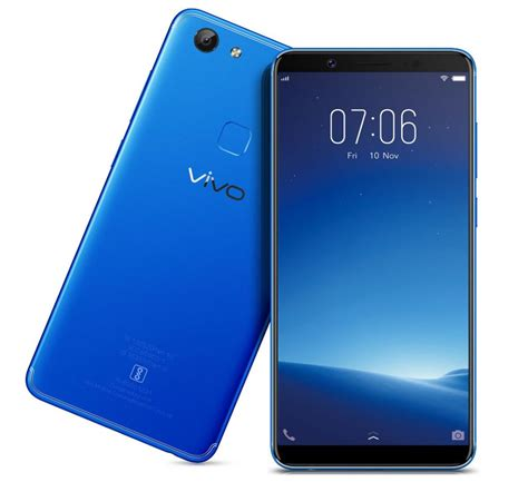 vivo v7 vivo v7 energetic blue color variant launched in india
