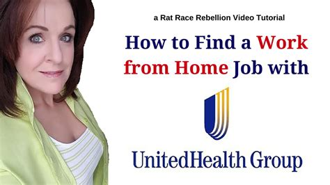 how to find a work from home with unitedhealth