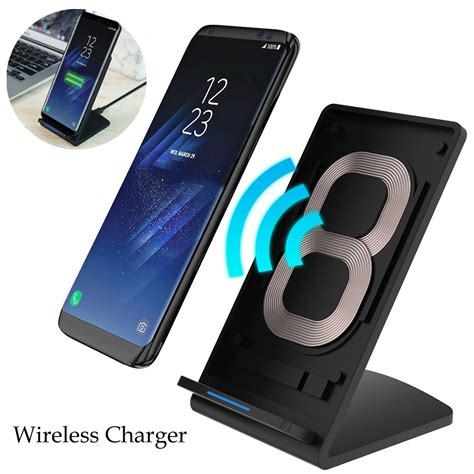 Fast Charging Wireless Charger Samsung Galaxy S8 Plus Note 8 Origin floveme wireless charger for samsung s8 s8 plus 5v 2a qi fast charger for iphone 8 x