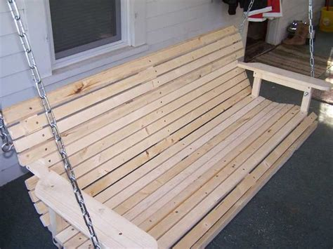 how to build a porch swing wood porch swing plan homemade porch swing that is easy