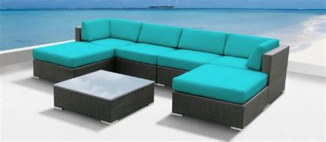 Outdoor Sectional Sofa Sale Patio Sets Clearance Luxxella Outdoor Patio Wicker Mallina Sofa Sectional Furniture 7pc All