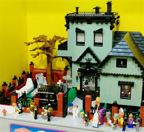 lego haunted house monster mash halloween lego edition