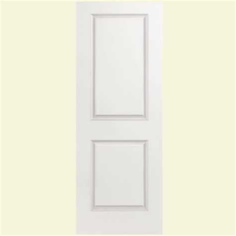 Two Panel Interior Door Masonite 28 In X 80 In Solidoor Smooth 2 Panel Solid Primed Composite Interior Door Slab