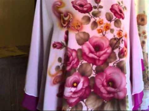 Baju Murah 748 baju lukis bunga jual baju lukis tangan murah