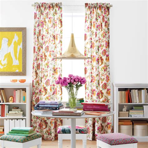 home design ideas curtains floral decorating ideas martha stewart