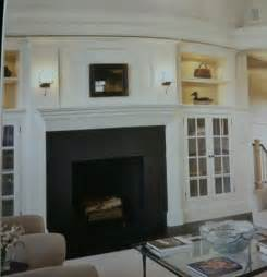 built ins around fireplace great room
