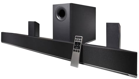vizio s new soundbar with wireless 5 1 surround flatpanelshd