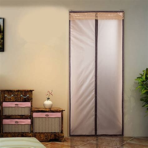 warm curtains for winter magnetic thermal insulated door curtain enjoy your cool
