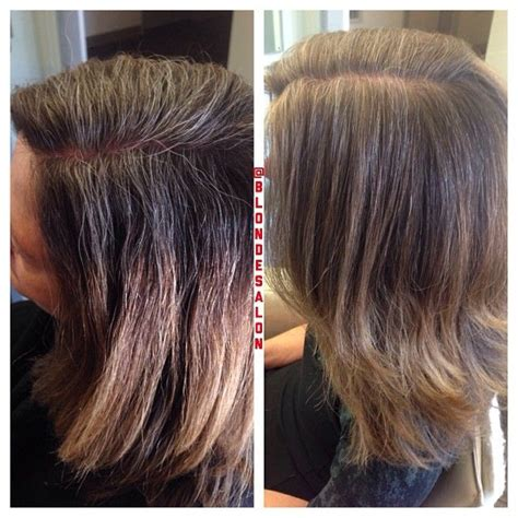 grey blending hair in la verne ca pin by blonde salon on instablondesalon pinterest