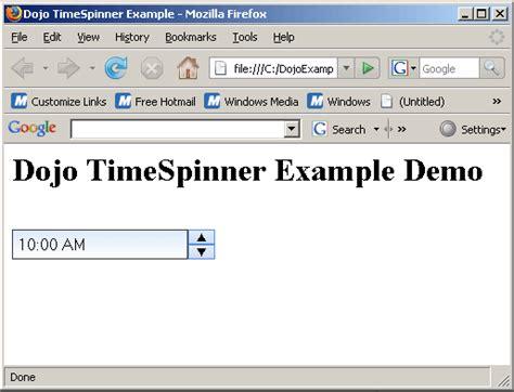 javascript widget pattern dojo widget tutorial image search results