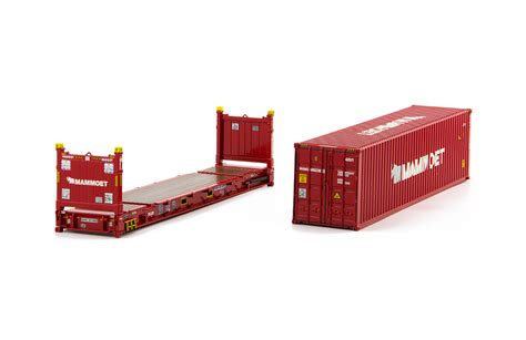Flat Rack Container by Mammoet 40 Ft Container 40 Ft Flat Rack Container Dhs
