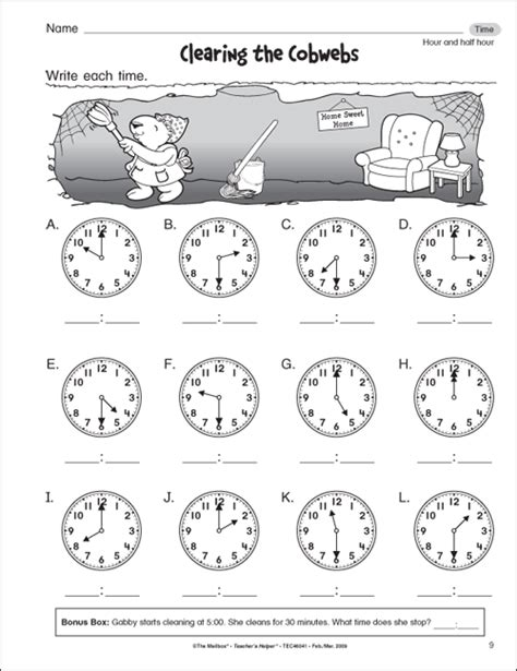 free printable time math sheets first grade math get free 1st grade math worksheets