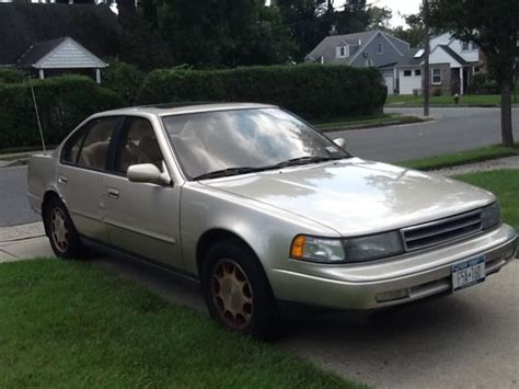 1991 nissan maxima gxe 1991 nissan maxima gxe pebble beige automatic