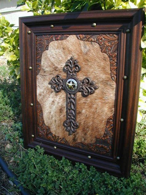 cowhide crosses rustic home decor country home decor 17 best images about western decor on pinterest western
